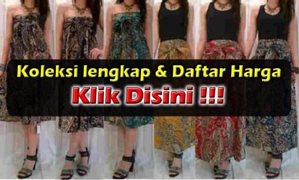 Baju Gamis Batik Murah