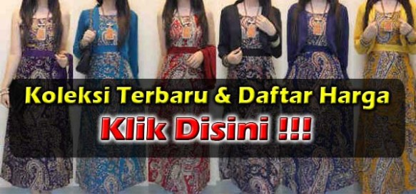 Maxi Dress Cardigan Cantik