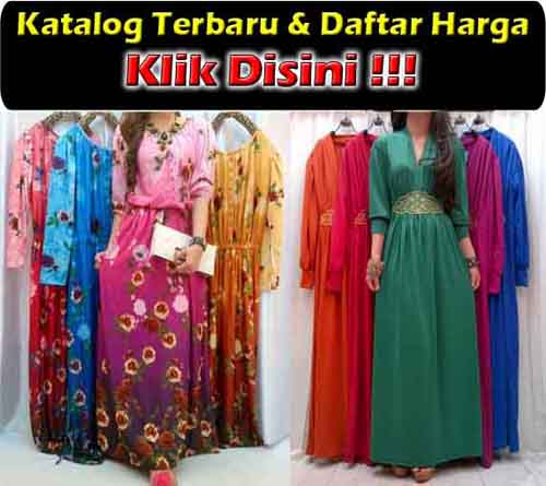 Maxi Dress Modis Bahan Spandek Korea