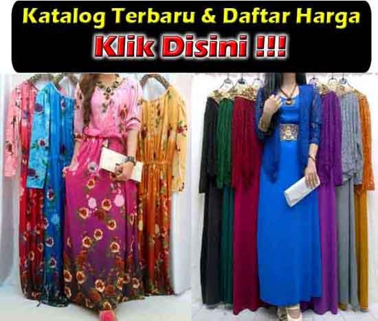 Baju Gamis Sifon Trendy