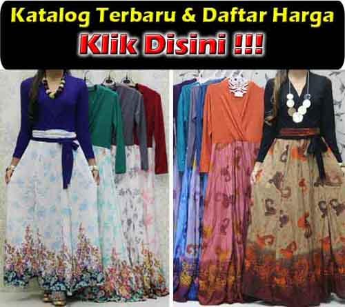 Baju Gamis Trendy Spandek Rayon