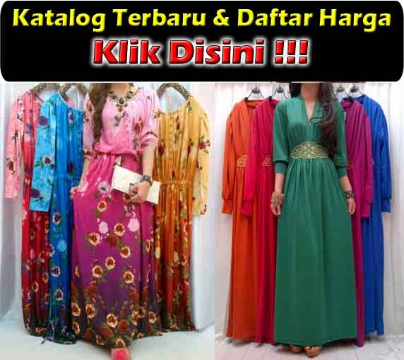 Maxi Dress Bahan Spandek Korea