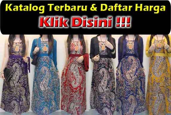 Jual Baju Gamis Batik Trendy