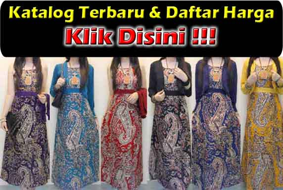Jual Baju Gamis Batik