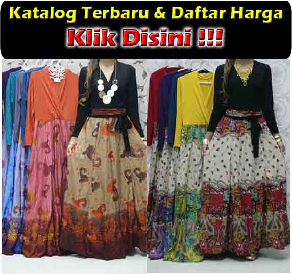 jual gamis maxi dress baleto modis