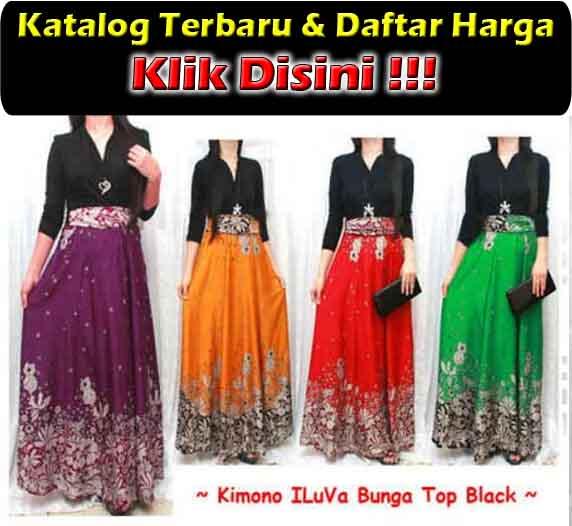 jual maxi dress cantik di surabaya