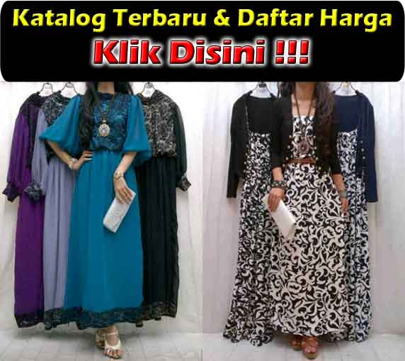 jual maxi dress modern bahan spandek korea