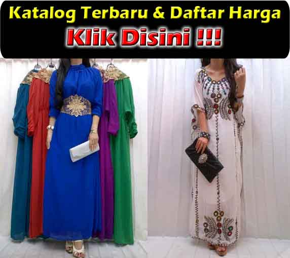 jual maxi dress modis bahan sifon