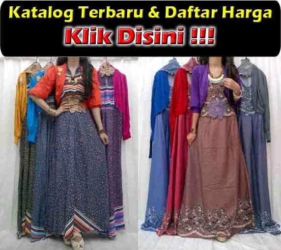 jual maxi dress trendy bahan denim