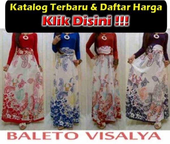 Baju Gamis Spandex Rayon Murah