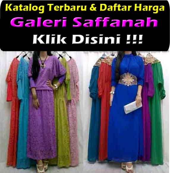 Jual Gamis Maxi Dress Kerancang Trendy