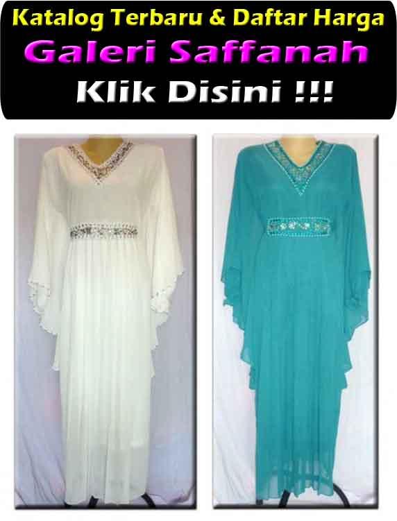 Jual Gamis Maxi Dress Warna Putih Grosir Baju Gamis