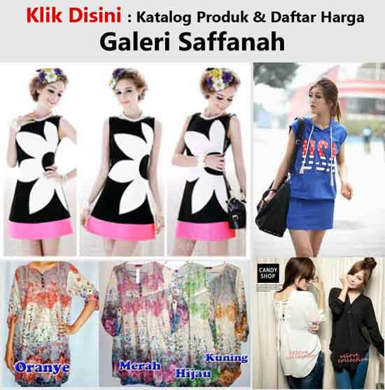 Jual Baju Fashion Korea Casual Modern