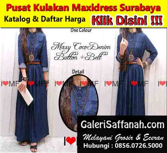 Supplier Tangan Pertama Maxi Dress Surabaya